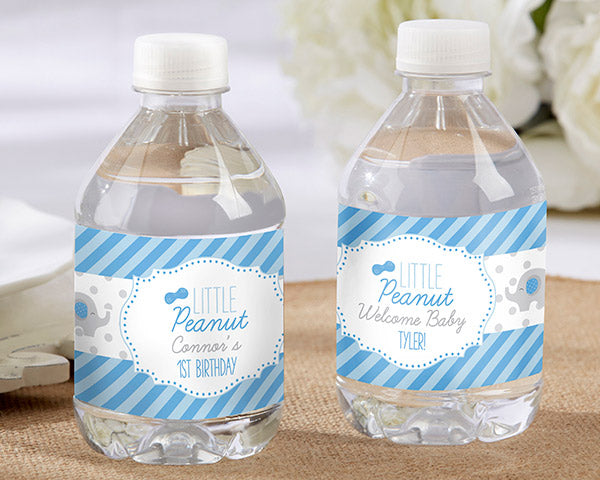 Personalized Little Peanut Water Bottle Labels