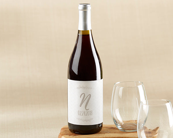 Personalized Ethereal Wine Bottle Labels