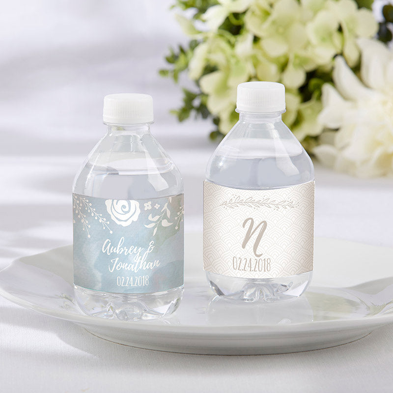 Personalized Ethereal Water Bottle Labels