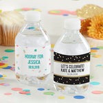 Personalized Party Time Water Bottle Labels