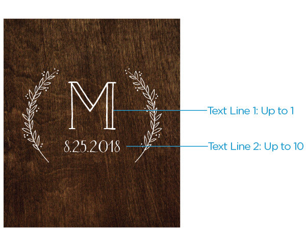 Personalized Rustic Charm Wedding Wine Bottle Labels
