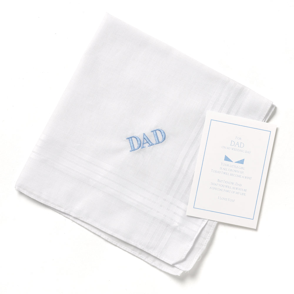 Dad Embroidered Handkerchief