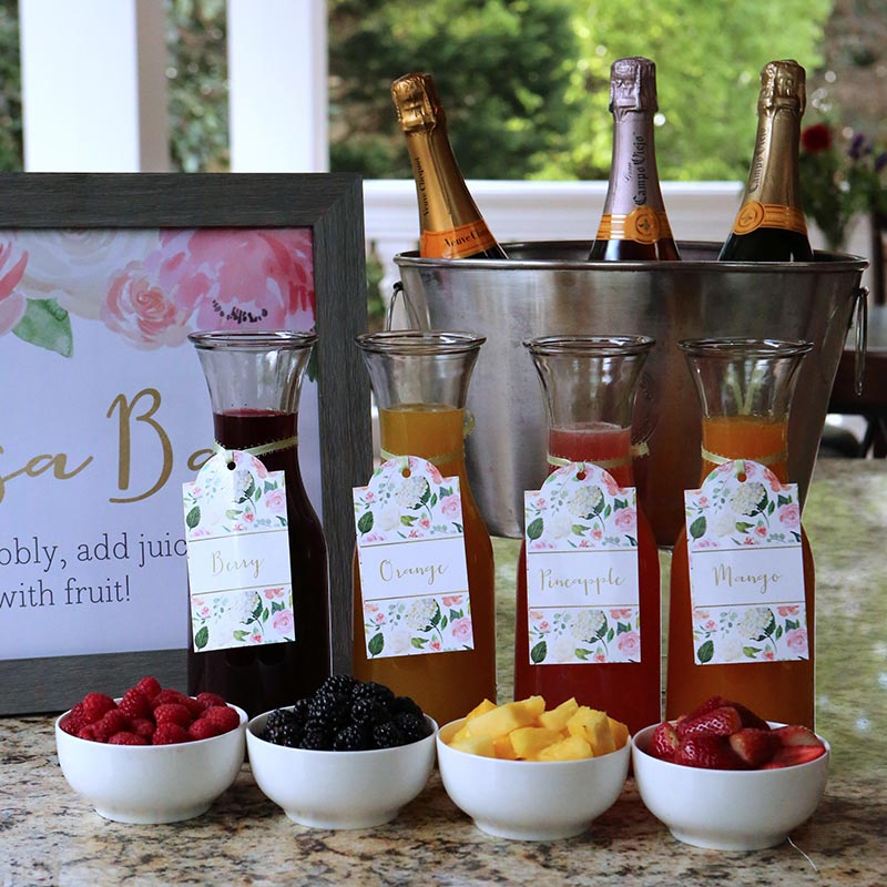 Mimosa Bar Floral 10-Piece Kit