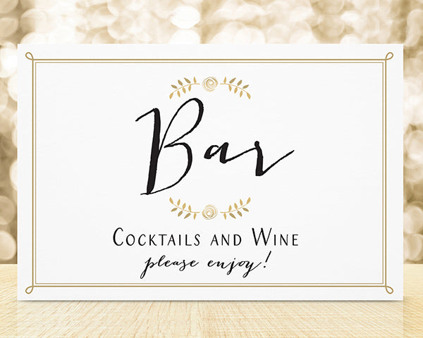 Personalized Wedding Sign (18x12)