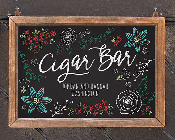 Personalized Chalk Sign (18x12)
