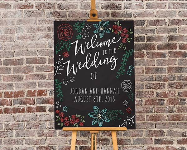 Personalized Chalk Poster (18x24)