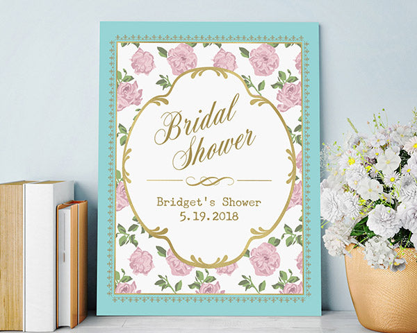 Personalized Tea Time Poster (18x24)