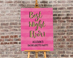 Personalized Bachelorette Poster (18x24)
