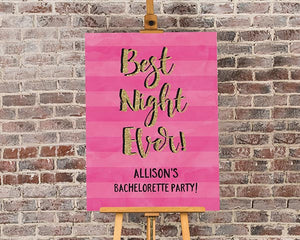 Load image into Gallery viewer, Personalized Bachelorette Poster (18x24)
