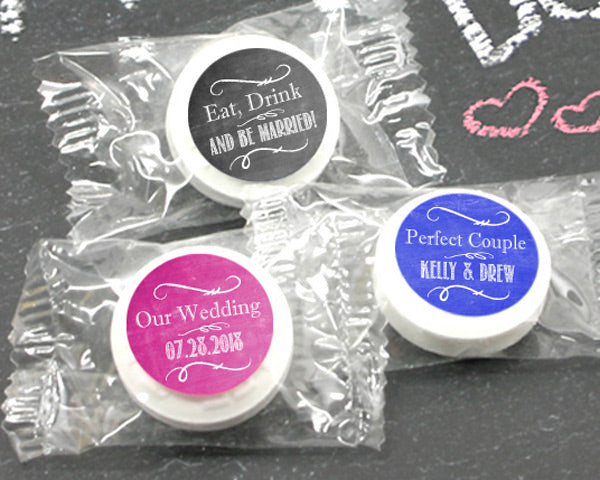 Personalized Mint Life Savers®- Silhouette Collection (Many Designs Available) | My Wedding Favors