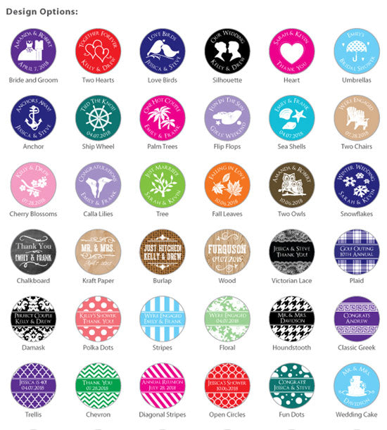 Personalized Mint Life Savers®- Silhouette Collection (Many Designs Available)