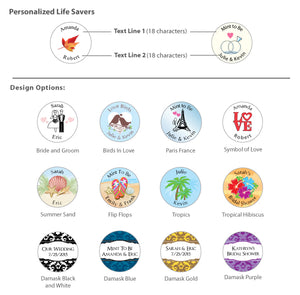 Personalized Mint Life Savers® Favors