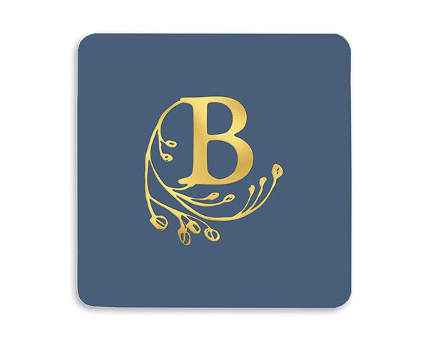 Personalized Square Paper Coasters - Set of 100 (Multiple Styles Available)