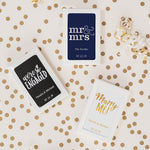 Personalized Foil Stamped Playing Cards