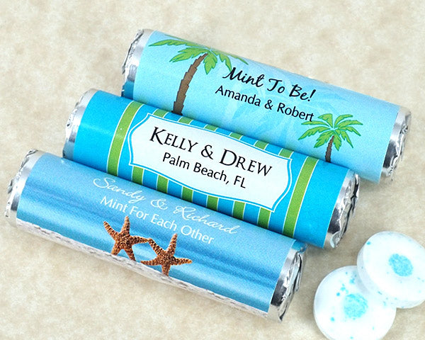 Personalized Breath Savers Mint Rolls | My Wedding Favors