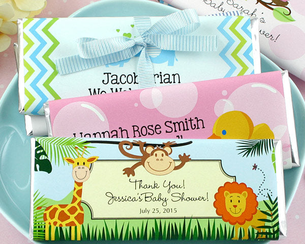 Personalized Baby Shower Hershey's Chocolate Bars | My Wedding Favors