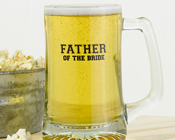 Father of the Bride Beer Mug|My Wedding Favors