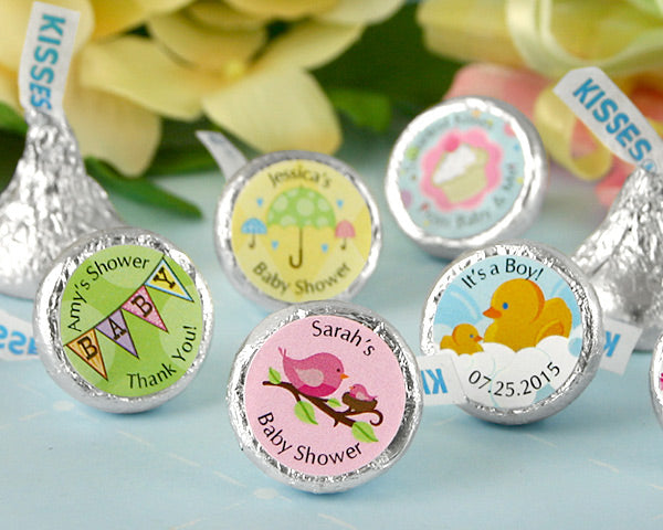 Personalized Baby Hershey's Kisses (Many Designs Available) | My Wedding Favors