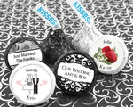 Personalized Colored Foil Hershey's Kisses (Many Designs Available)