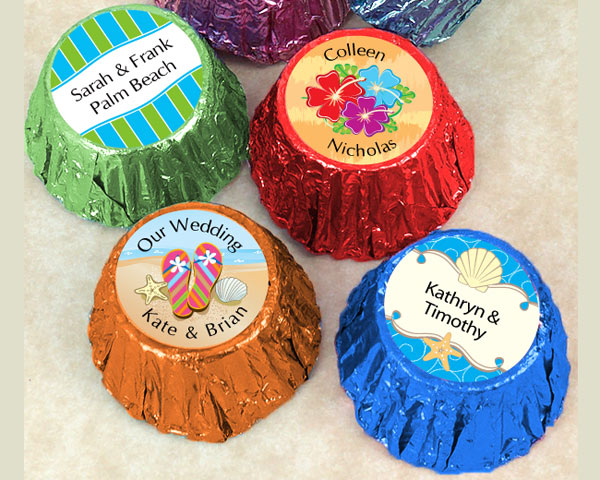Personalized Colored Hershey's Reese's (Many Designs Available)