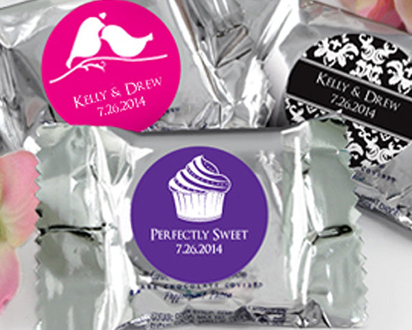 Personalized YORK® Peppermint Patties - Silhouette Collection | My Wedding Favors