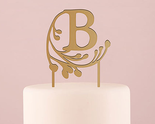 Fairy Tale Monogram Acrylic Cake Topper