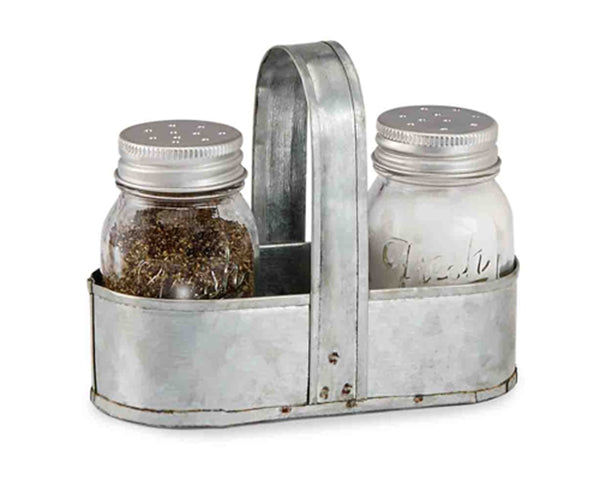 Fresh Jar Salt & Pepper Caddy Set