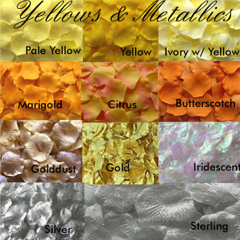 Flower Petals (83 Colors Available) (Set of 100)