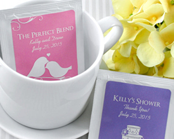 Personalized Tea (Many Designs Available) | My Wedding Favors