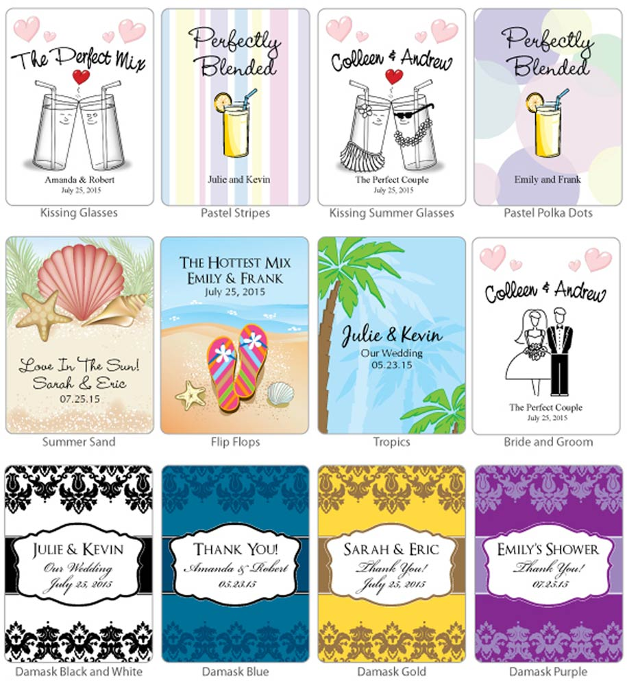 Personalized Lemonade Mix (Many Designs Available)