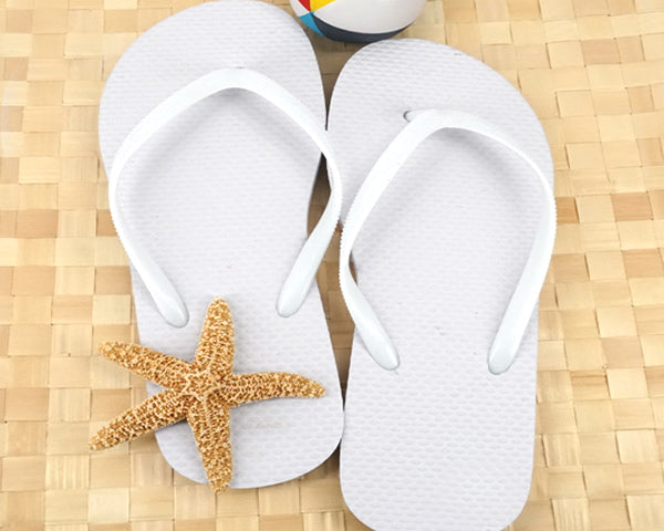 Wedding Flip Flops (Black or White Available) | My Wedding Favors