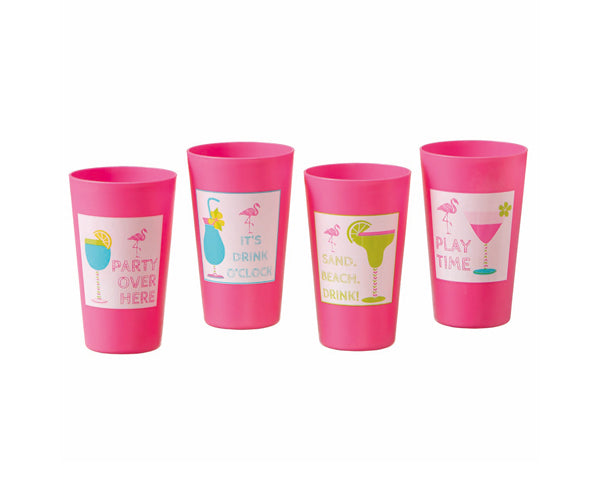 16 oz. Pink Party Cup (Multiple Designs)