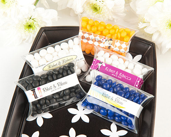 Wedding Personalized Candy Pillow Packs