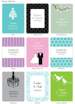 Silver Personalized Coffee Favors - Exclusive Designs