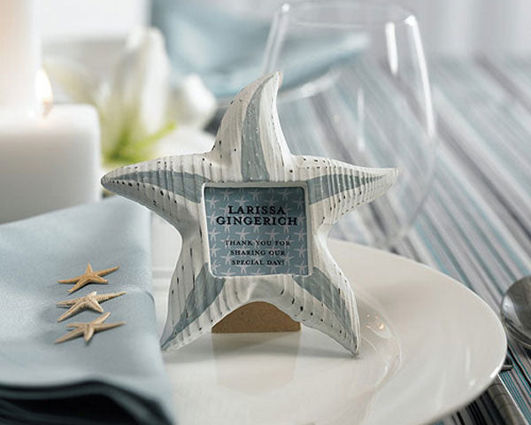 Nature's Bounty Wooden Starfish Frame/Place Card Holder