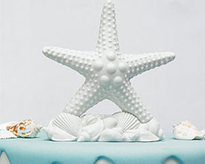 Load image into Gallery viewer, Starfish Cake Topper