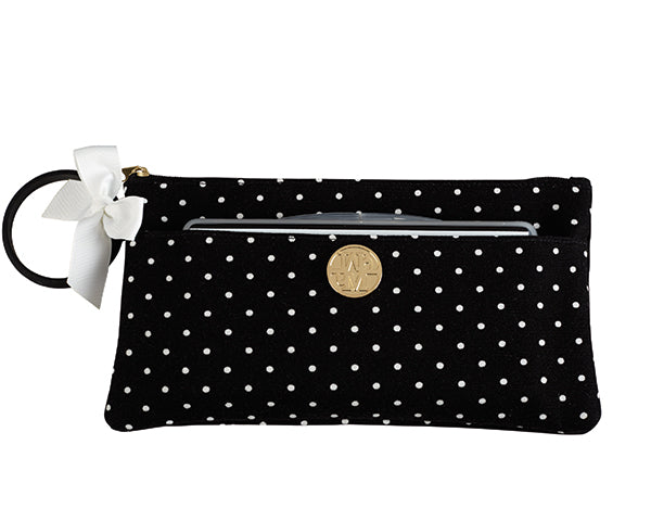 Black Bangle Clutch Bag