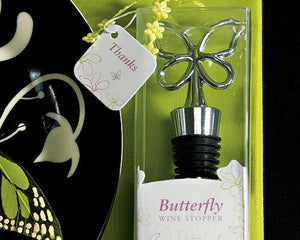 Butterfly Wine Stopper in Gift Packaging