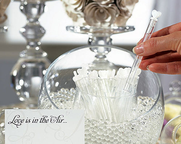 "Wedding ""Love Bubble"" Wands (Set of 24)"