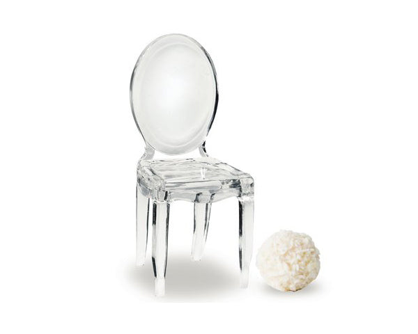 Personalized Miniature Clear-Acrylic Phantom Chair (Set of 8) | My Wedding Favors