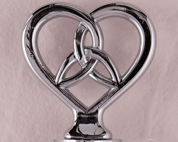 The Love Knot Bottle Stopper with Gift Packaging