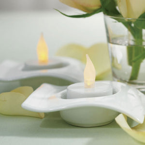 Flameless Battery Operated Tealights (Set of 6)