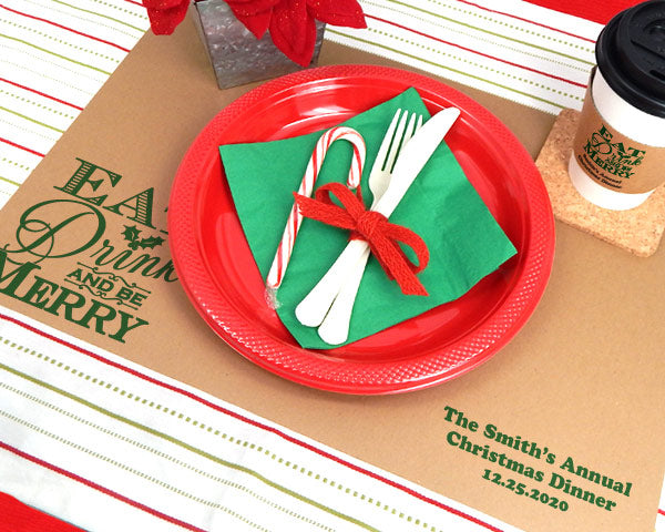 Kraft Holiday Placemats