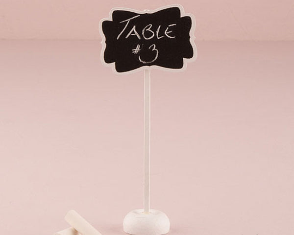 Decorative Chalkboard with Stand (Available in Small or Medium)