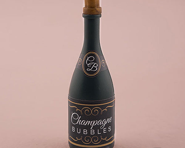 Wedding Bubble In Champagne Bottle (Set of 24)  | My Wedding Favors
