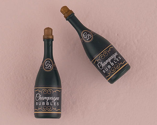 Wedding Bubble In Champagne Bottle (Set of 24)