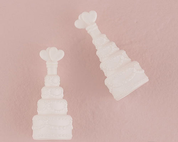 Wedding Bubbles In Wedding Cake Bottle (Set of 24)