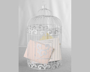 Load image into Gallery viewer, Birdcage Card Holder