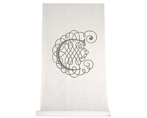 Load image into Gallery viewer, Personalized Flourish Design Aisle Runner