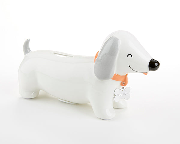 Puppy Porcelain Bank